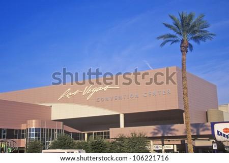 DECEMBER 2004 - Convention Center, Las Vegas, NV - stock photo