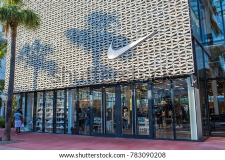 boutique nike miami