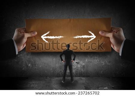 Decision concept  - stock photo