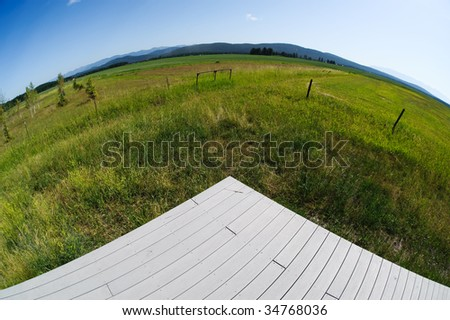 Deck - stock photo