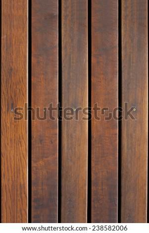 Deck wood. - stock photo