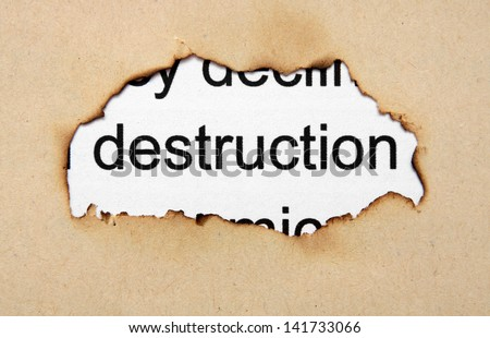 deconstruction thesis