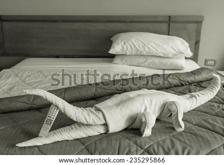 Decor in hotel - stock photo