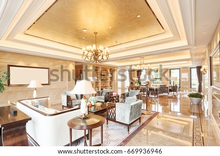 decoration and design of modern luxury living room - Modern Luxury Living Room