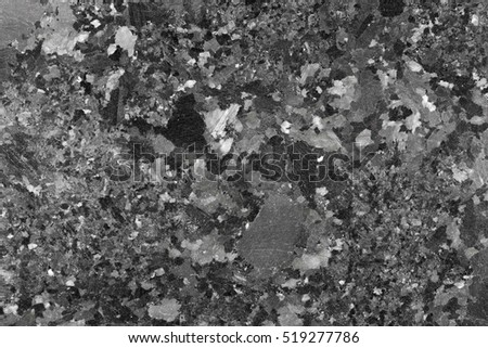 Decoration black granite stone texture. High resolution photo.