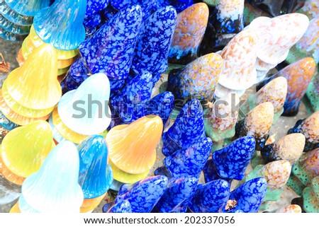 decoration elements for plants - stock photo