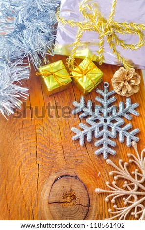 decoration for cristmas - stock photo