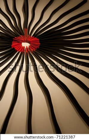 Decoration of abstract art - stock photo