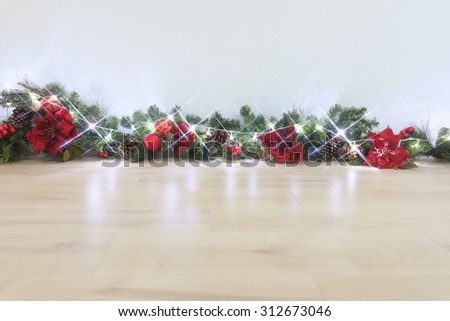 Decoration of the Christmas - stock photo
