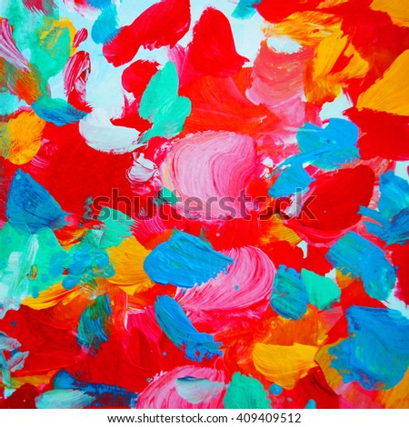 decorative abstract painting for interior, background, illustration, wallpaper