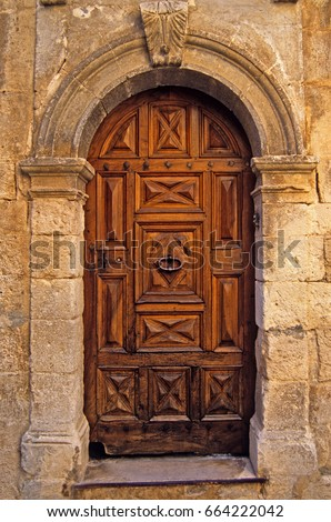 Decorative and impressive house Doors in Provence South of France