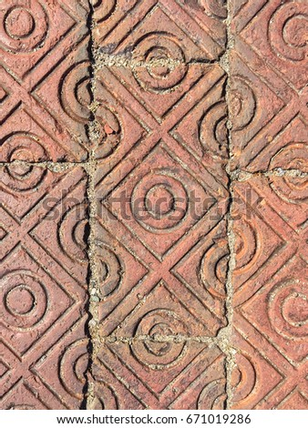 Decorative Brick Pavers red brick paver stock images, royalty-free images & vectors