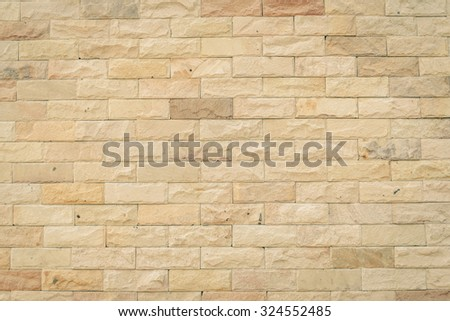 Decorative Brick Wall Vintage Stock Photo 324552485 - Shutterstock