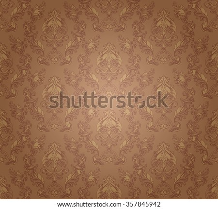 decorative elements in vintage style for decoration layout, framing, for text for advertising, illustration hands, seamless texture - stock photo