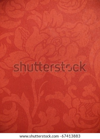 Decorative floral aging background. More of this motif & more backgrounds in my port. - stock photo