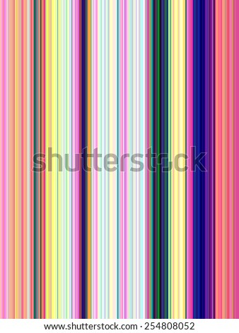 Decorative geometric multicolored abstract of thin stripes - stock photo