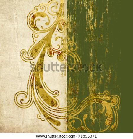 decorative grunge background - stock photo