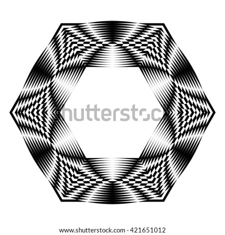 Decorative items to decorate your work. Graphic elements for design. Geometric fashion pattern. Star, snowflake, round pattern. - stock photo