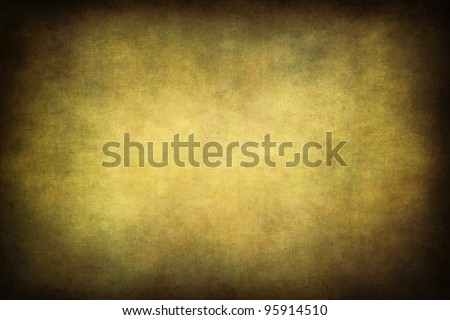 decorative old looking background texture with vignette - stock photo