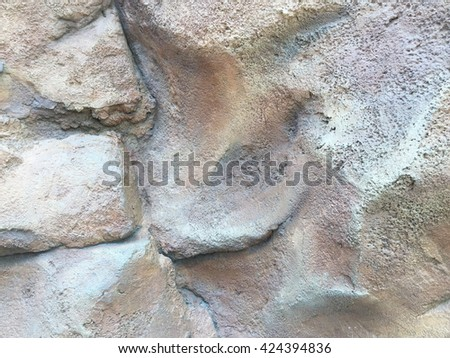 Decorative Rock wall texture background