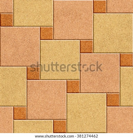 Building Decorative Brick Type Wall Tiles Stock Illustration ...
