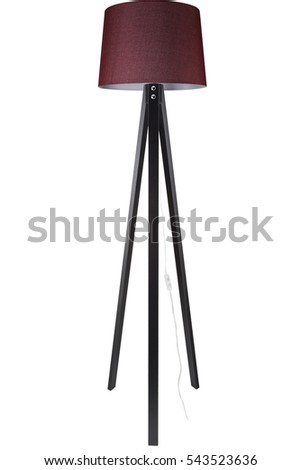 Standing lamp stock images royalty free images vectors decorative tripod standing light floor lamp lampshade mozeypictures Image collections