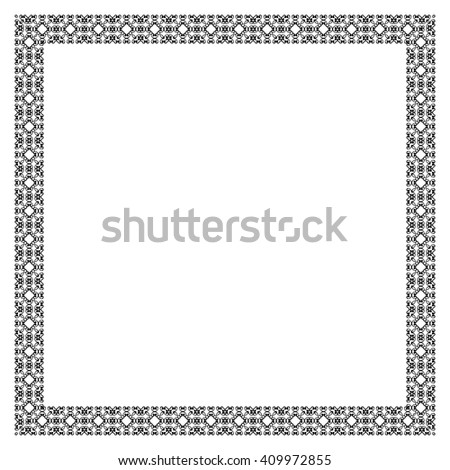 Decorative Vintage Frame Border Pattern