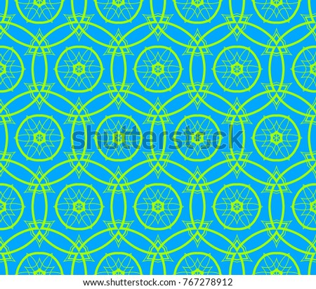 Decorative wallpaper design in shape. abstract background.