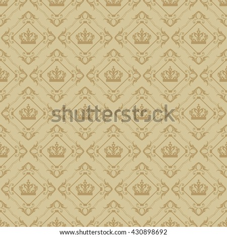 decorative wallpaper for walls vintage seamless pattern