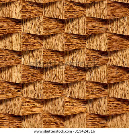 Abstract paneling pattern seamless background cassette for 3d wood wallpaper