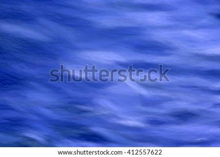 deep blue  - illustration based on own photo image - stock photo