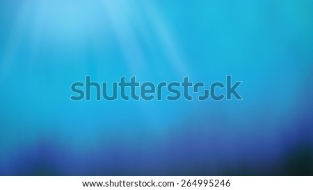Deep blue sea for texture background - stock photo