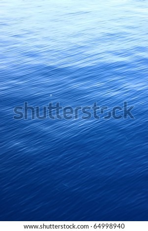 Deep Blue Water Ripple Texture
