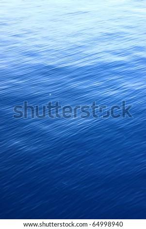 Deep Blue Water Ripple Texture - stock photo