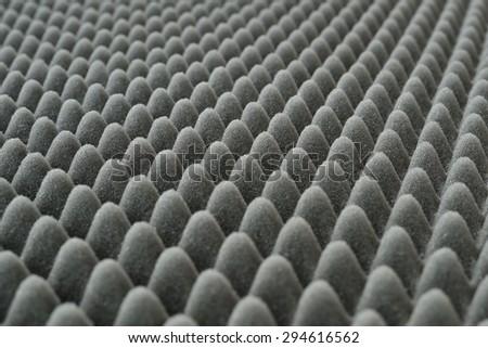 deep gray foam-rubber - stock photo
