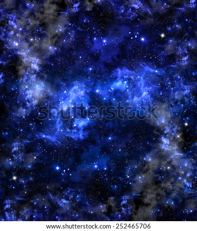 deep outer space, background - stock photo