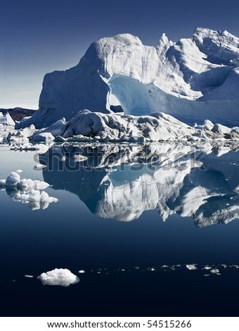 Deep pure waters, ices and icebergs of Greenland 4