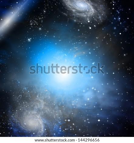 Deep Space - stock photo