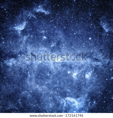 Deep space background. Elements of this image furnished by NASA  - stock photo