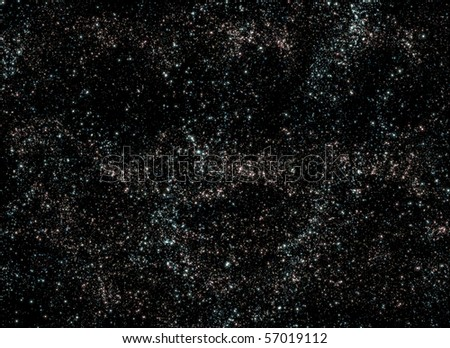 Deep Space Cosmos - stock photo