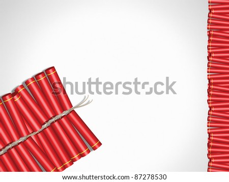 deepavali cracker - stock photo