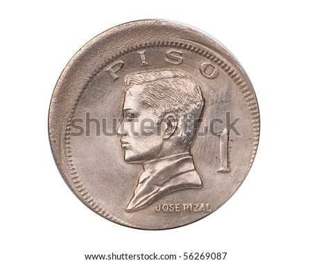Defective Philippine Coin - stock photo