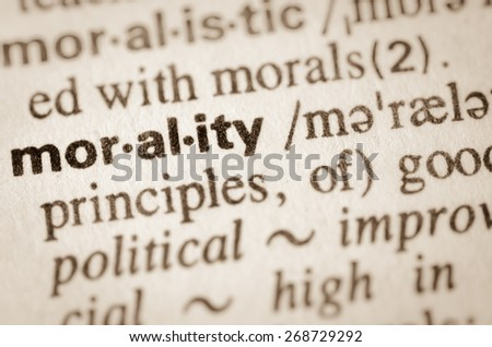 values morals definition An idealized value system is a listing of values that lacks exceptions it is, therefore, absolute and can be codified as a strict set of proscriptions on behavior.