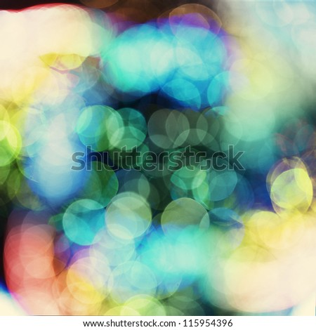 Defocused abstract background of water splashes - stock photo