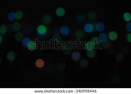 Defocused abstract bokeh light background