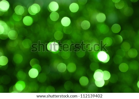 Defocused abstract green background - stock photo