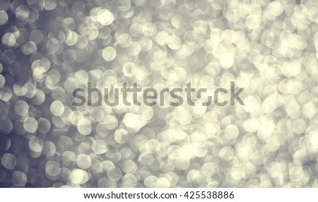 Defocused abstract  lights background - stock photo