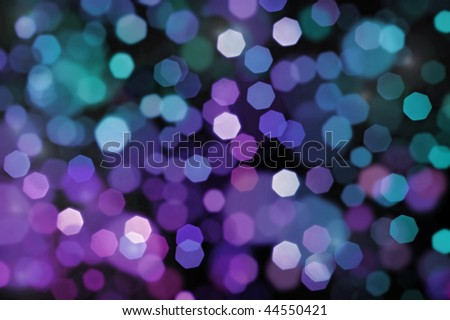 defocused background of abstract colorful lights - stock photo
