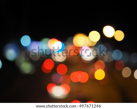 defocused bokeh lights. abstract background