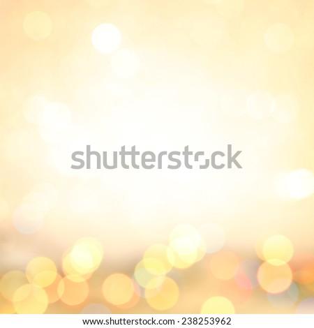 Defocused christmas lights background, Pastel abstract blur bokeh lights. defocused background. - stock photo